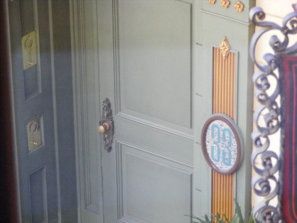 Entrance to Club 33, from inside Club 33!